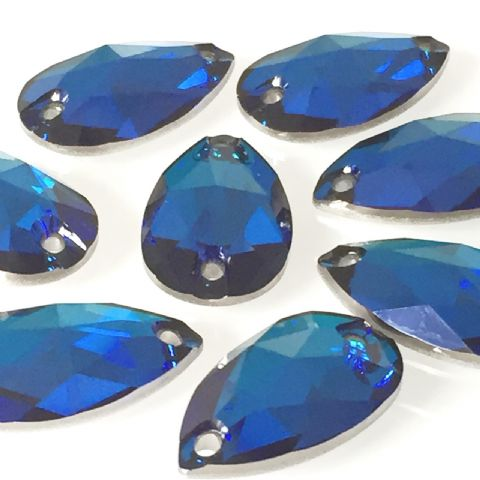 3230 Drop Sew On Crystals, Bermuda Blue
